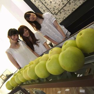 梨とフラウ.JPG