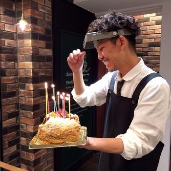 職人さんお誕生日