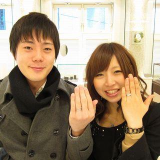 KEISUKEとSANAオーダーメードで指輪を作りました.JPG