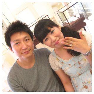 KIMIHITOとYUMIKOはフラウコウベのお客様.JPG