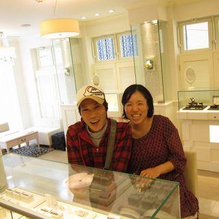 MISAKIとHARUTOSHIはフラウ神戸のお客様.JPG