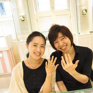RYUSUKEとKANAEはフラウコウベのお客様.JPG